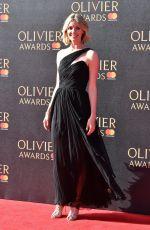 ELIZE DU TOIT at Olivier Awards in London 04/09/2017