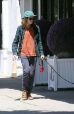 ELLEN PAGE Shopping at American Rag in Los Angeles 04/28/2017