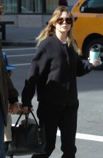 ELLEN POMPEO Out and About in New York City 04/10/2017