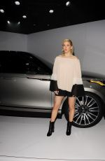 ELLIE GOULDING at Range Rover Velar Premiere in New York 04/11/2017