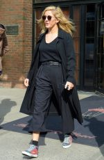 ELLIE GOULDING Leaves Her Hotel in New York 04/13/2017