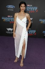 ELODIE YUNG at Guardians of the Galaxy Vol. 2 Premiere in Hollywood 04/19/2017