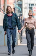 ELSA HOSK and Tom Daly Out and About in New York 04/20/2017