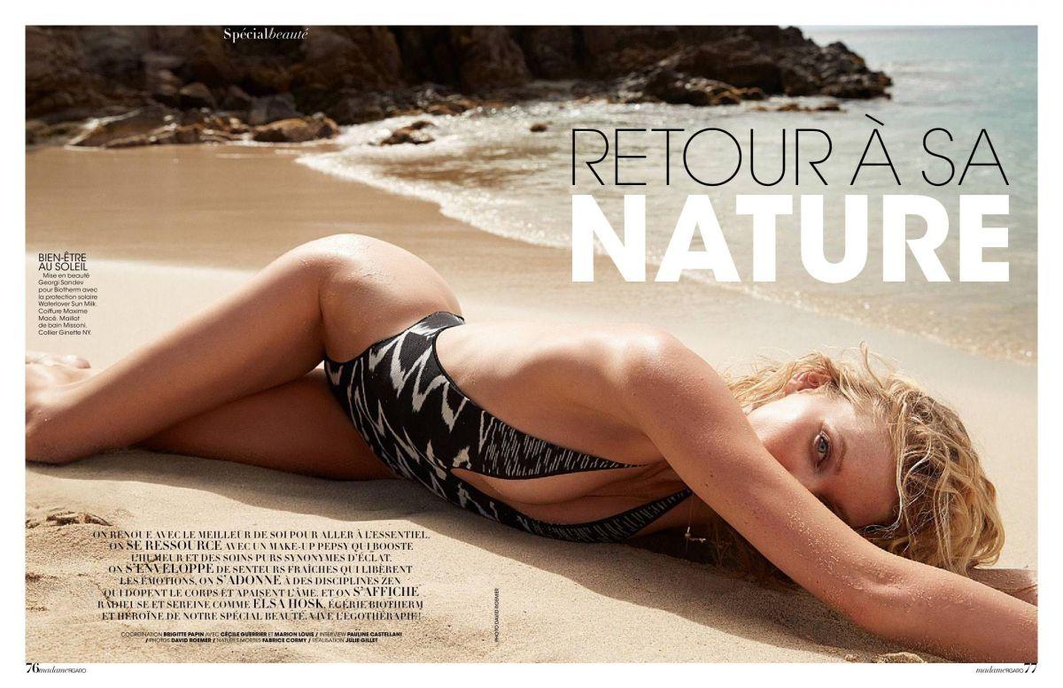 Elsa hosk madame figaro april 2019 issue nudes (22 photo)