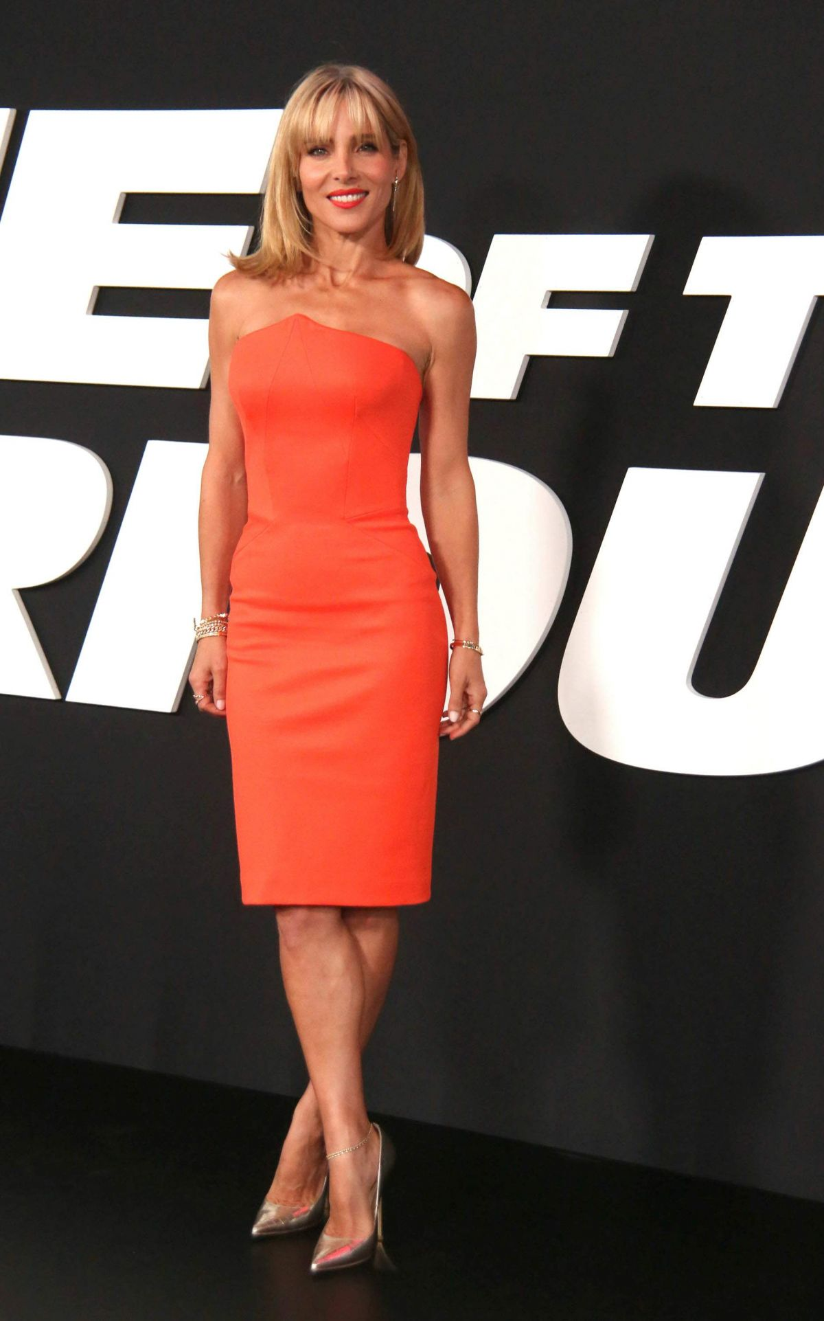 Elsa pataky fate of the furious pemiere in new york new pictures