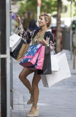ELSA PATAKY Out Shopping in Madrid 04/26/2017