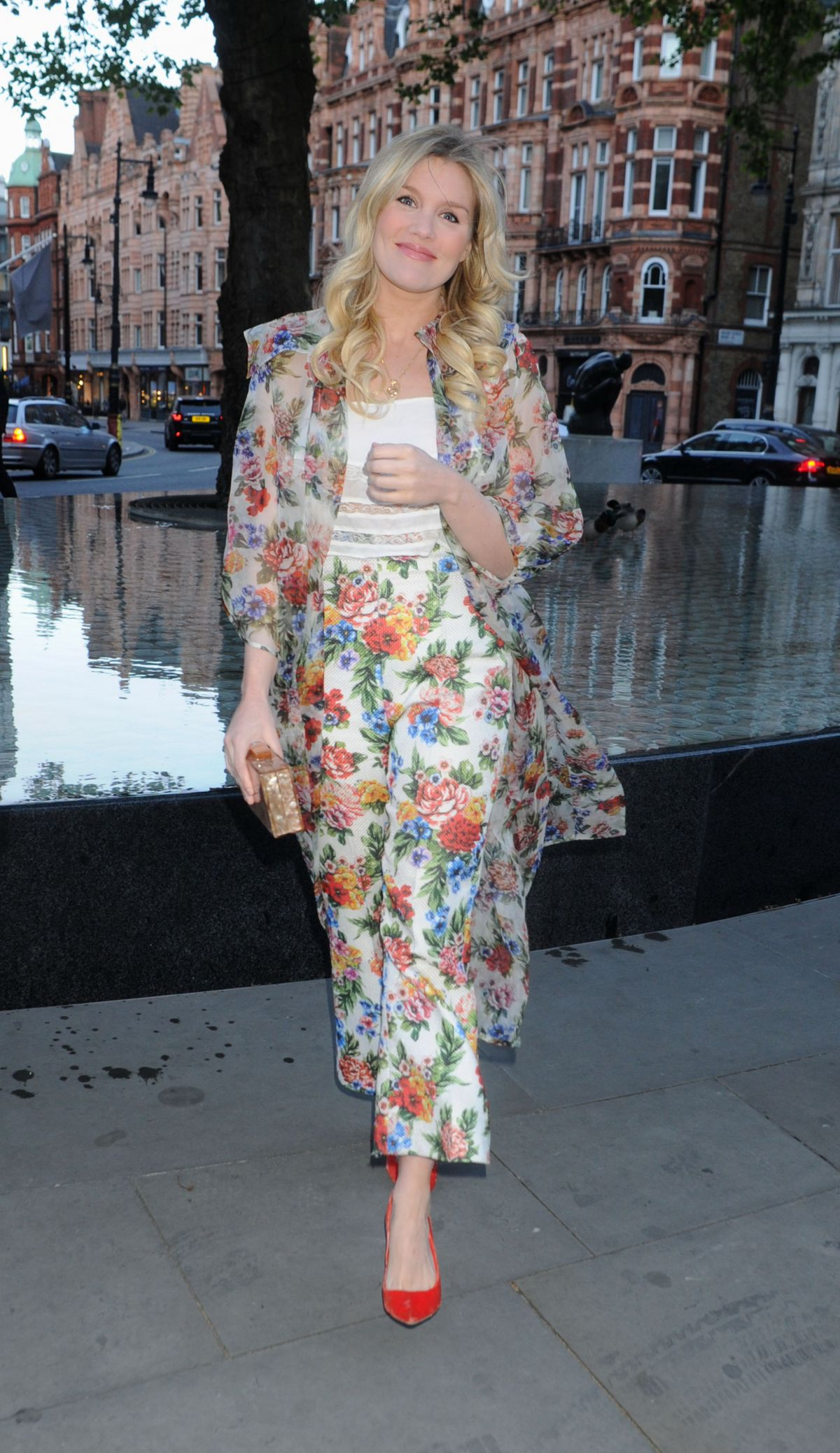 EMERALD FENNELL at Alice x FrenchSoles Dinner Party in London 04/25/2017