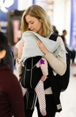EMILY BLUNT at Heathrow Airport in London 04/17/2017