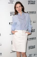 EMILY MORTIMER at Untold Stories Luncheon in New York 04/18/2017