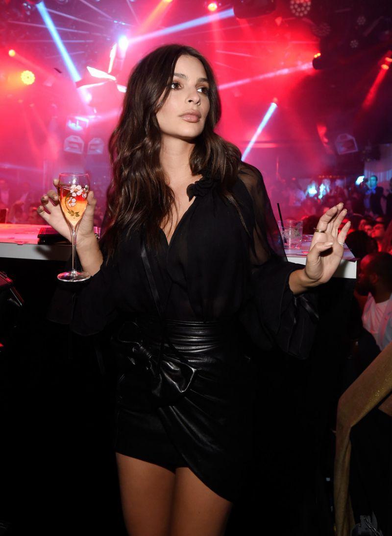EMILY RATAJKOWSKI at Intrigue Nightclub 1 Year Anniversary Party in Las Vegas 04/27/2017