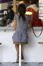 EMILY RATAJKOWSKI Out for Breakfast at Grand Central Market in Los Angeles 04/21/2017