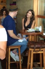 EMILY RATAJKOWSKI Out for Lunch at Nobu Restaurant in Malibu 04/27/2017
