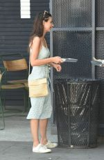 EMILY RATAJKOWSKI Out for Lunch Dinette Cafe in Los Angeles 04/23/2017