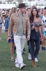 EMILY RATAJKOWSKI Out with Friends at Coachella Festival in Indio 04/14/2017