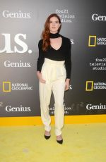 EMILY TYRA at National Geographic's Genius Premiere in Los Angeles 04/24/2017