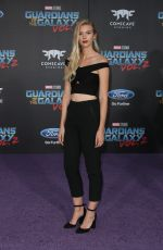 EMMA ISHTA at Guardians of the Galaxy Vol. 2 Premiere in Hollywood 04/19/2017