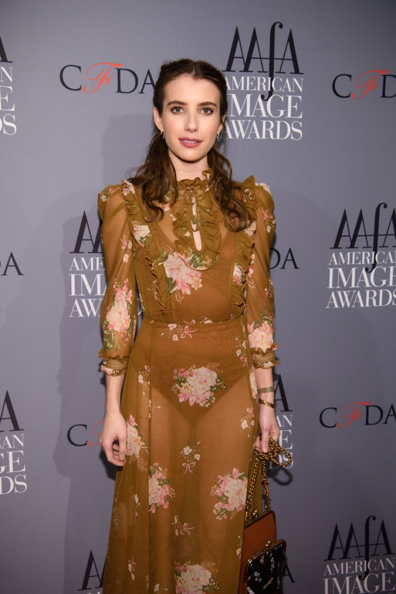 EMMA ROBERTS at 39th Annual American Image Awards in New York 04/24/2017