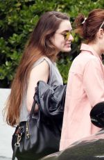 EMMA ROBERTS Out in West Hollywood 04/08/2017