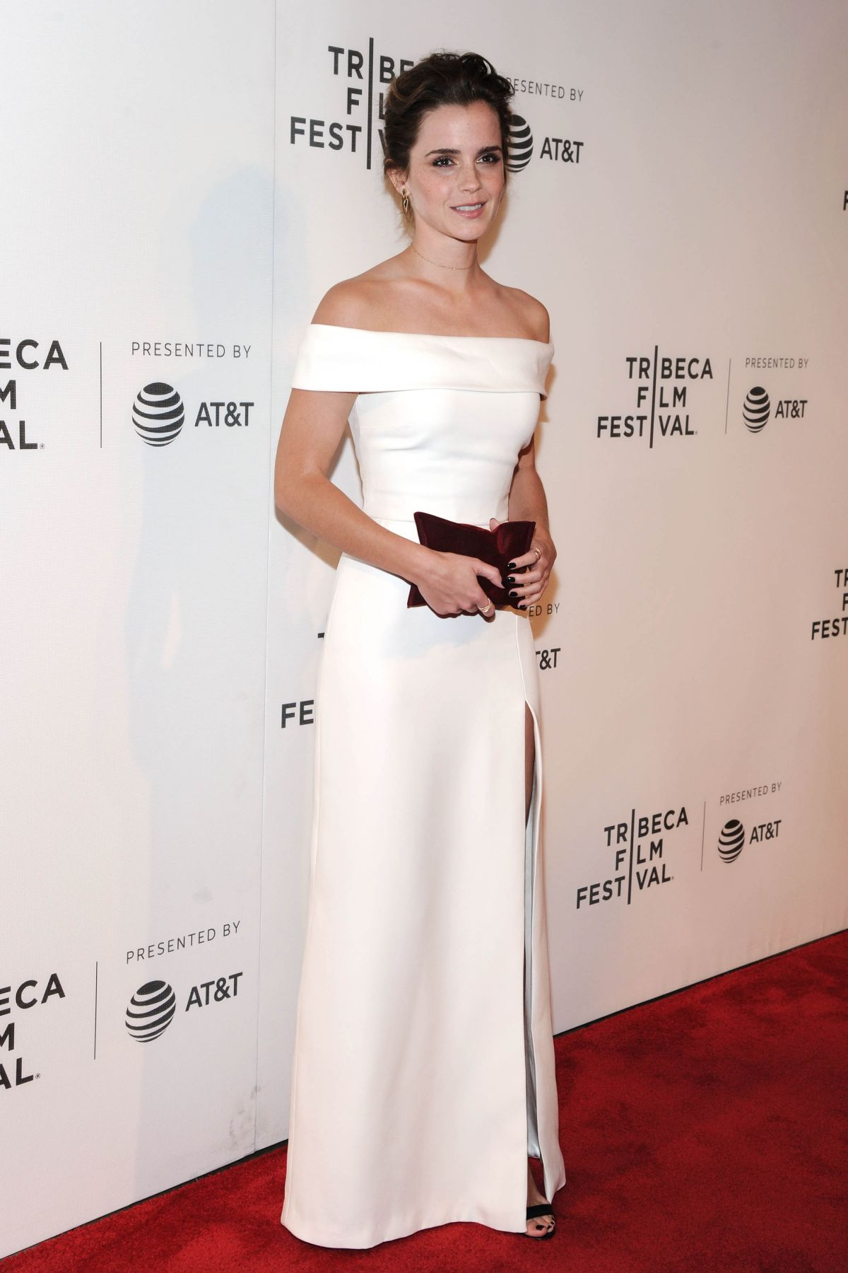 EMMA WATSON at The Circle Premiere at 2017 Tribeca Film Festival 04/26/2017