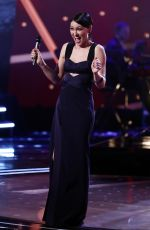 EMMA WILLIS Hosting The Voice Final Show in London 04/01/2017
