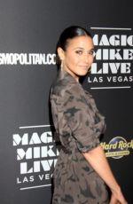 EMMANUELLE CHRIQUI at Magic Mike Live Las Vegas Opening Night 04/21/2017