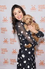 EMMY ROSSUM at 2017 Best Friends Benefit to Save Them All in New York 04/03/2017