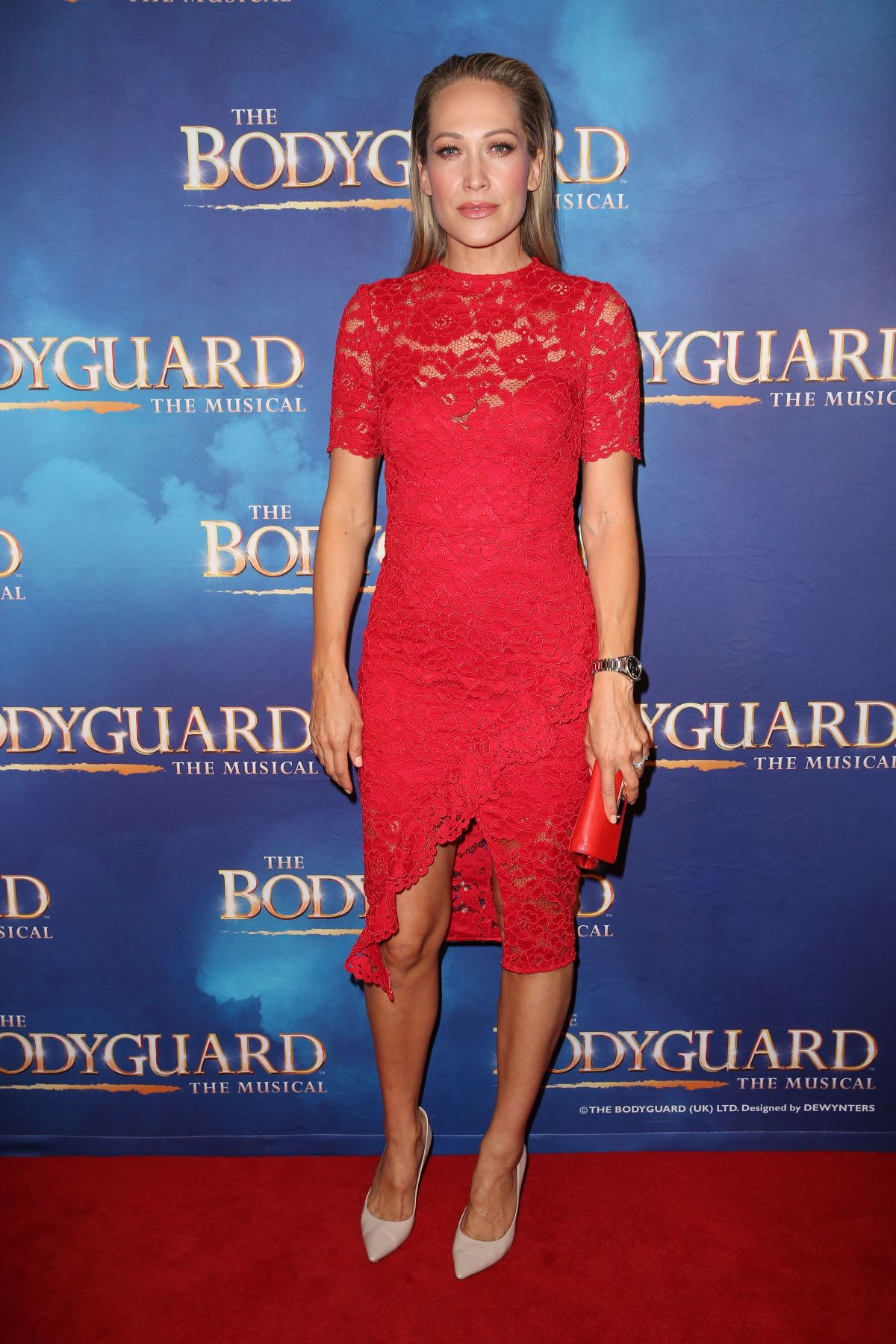 ERIKA HEYNATZ at The Bodyguard Musical Premiere in Sydney 04/27/2017
