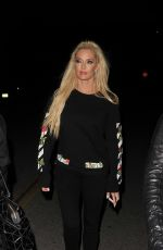 ERIKA JAYNE Arrives at DWTS Party in Los Angeles 04/10/2017