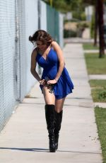 ERIKA JORDAN Out and About in Los Angeles 04/24/2017