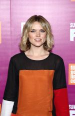 ERIN RICHARDS at Feud Premiere in New York 04/18/2017