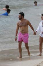 EVA LONGORIA and Jose Baston on Vacation in Honolulu 04/19/2017