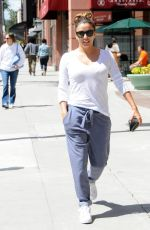 EVA LONGORIA Leaves Anastasia Spa in Beverly Hills 04/13/2017
