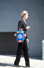 EVAN RACHEL WOOD Leaves a Studio in Los Angeles 04/05/2017