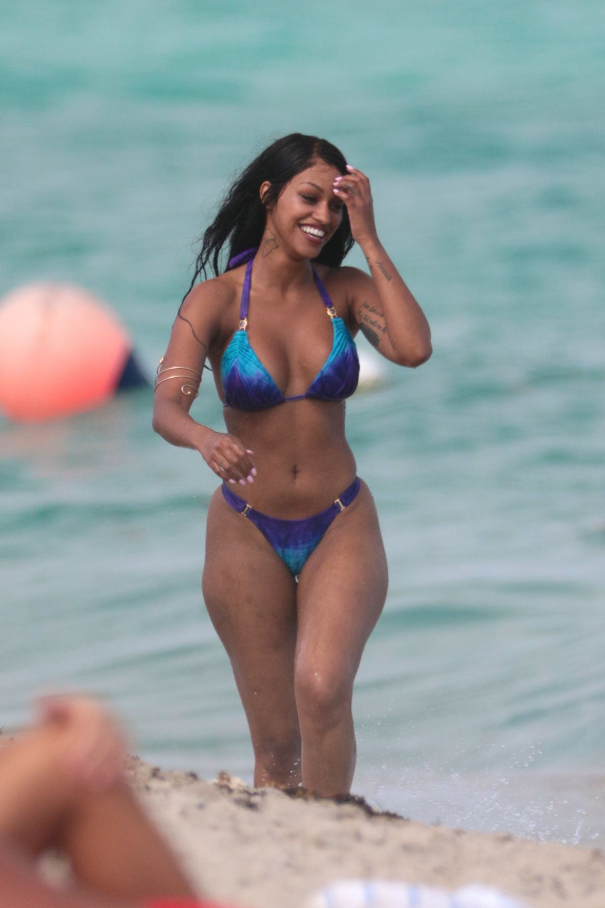 FANNY NEGUESHA in Bikini on the Beach in Miami 04/05/2017