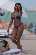 FANNY NEGUESHA in Bikini on the Beach in Miami 04/05/2017