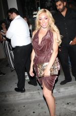 FARRAH ABRAHAM at Catch LA in West Hollywood 04/18/2017