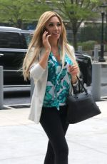 FARRAH ABRAHAM Out and About in New York 04/28/2017