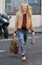 FEARNE COTTON Arrives at BBC Radio 2 Studios in London 04/05/2017