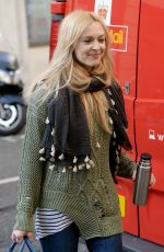 FEARNE COTTON Out and About in London 03/04/2017