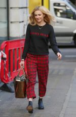 FEARNE COTTON Out and About in London 04/13/2017