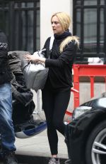 FEARNE COTTON Out and About in London 04/14/2017