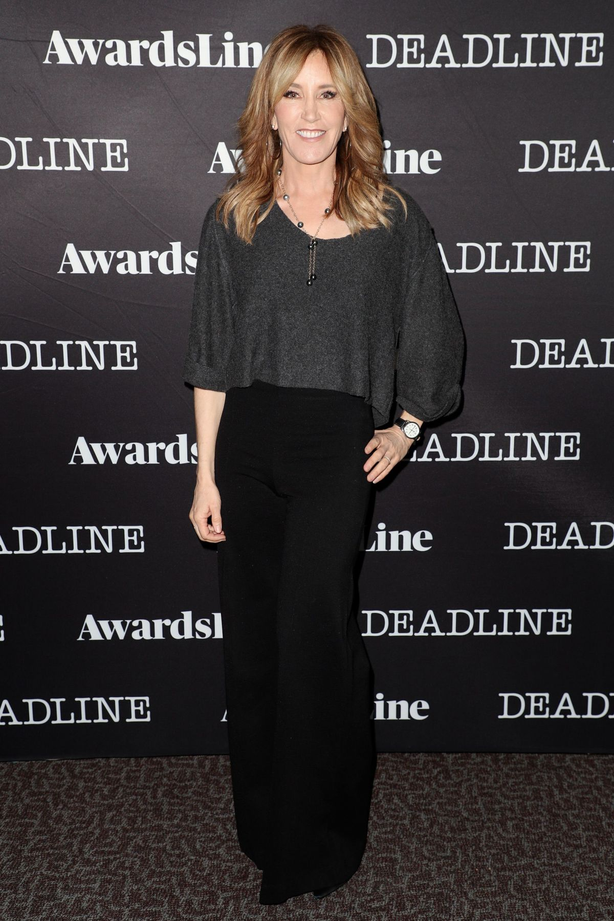 FELICITY HUFFMAN at Contenders Emmys Presented by Deadline in Los Angeles 04/09/2017