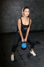 FIONA ERDMANN at John Reed Fitness Studio in Hamburg 04/10/2017