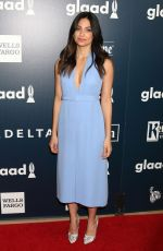 FLORIANA LIMA at 2017 Glaad Media Awards in Los Angeles 04/01/2017