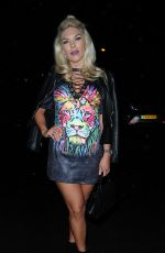 FRANKIE ESSEX Night Out in London 04/14/2017