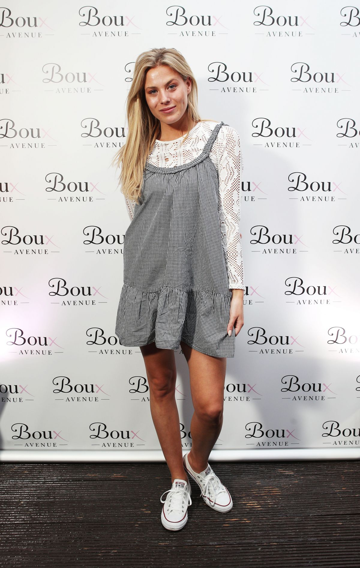 FRANKIE GAFF at Boux Avenue Spring/Summer 2017 Launch in London 04/26/2017