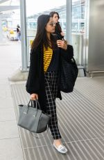 FREIDA PINTO at Heathrow Airport in London 04/10/2017