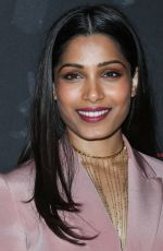 FREIDA PINTO at Guerrilla Emmy FYC Event in Beverly Hills 04/13/2017