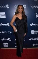 GARCELLE BEAUVAIS at 2017 Glaad Media Awards in Los Angeles 04/01/2017