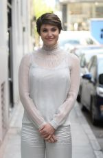 GEMMA ARTERTON Out and About in London 04/11/2017